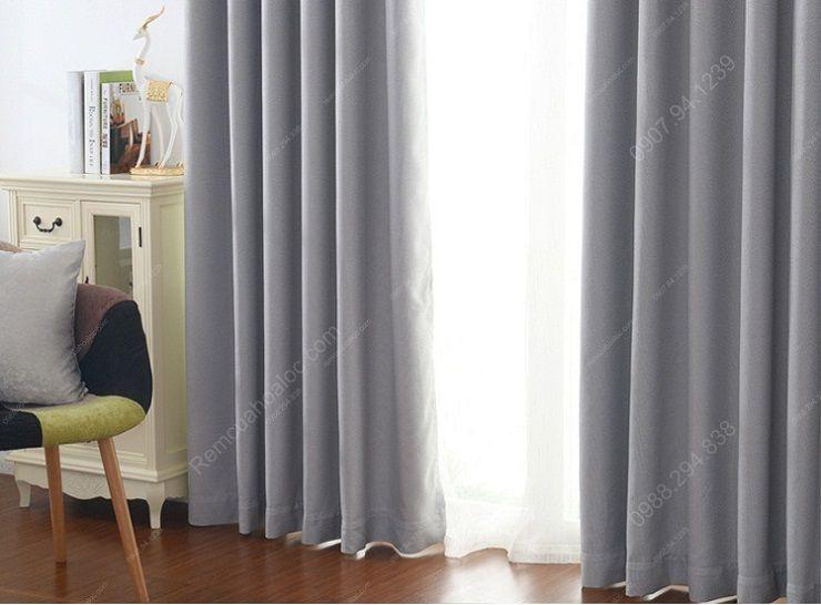 Rèm cửa sổ tại hà nội một màu sang trọng 12