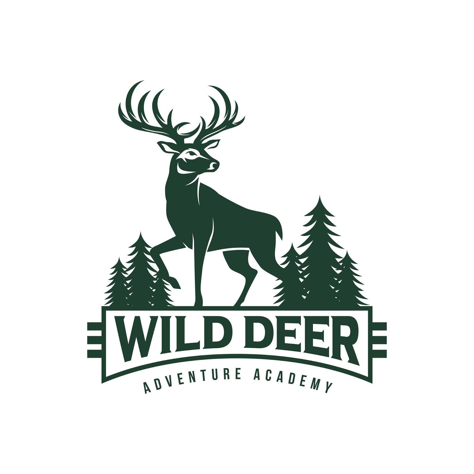 Vintage Deer Hunter Logo Free Download Vector CDR, AI, EPS and PNG Formats