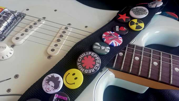 Ernie custom guitar straps