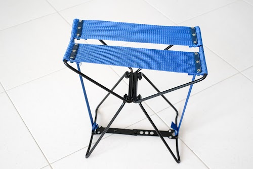 Portable outdoor stools and chairs compaired