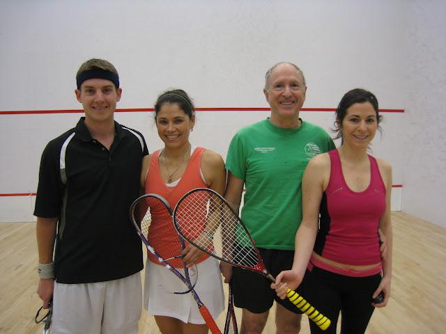 Open 4.5 Winners and Finalists - Gifford Sommerkamp, Belkys Velez, Steve Steinberg, Neely Steinberg