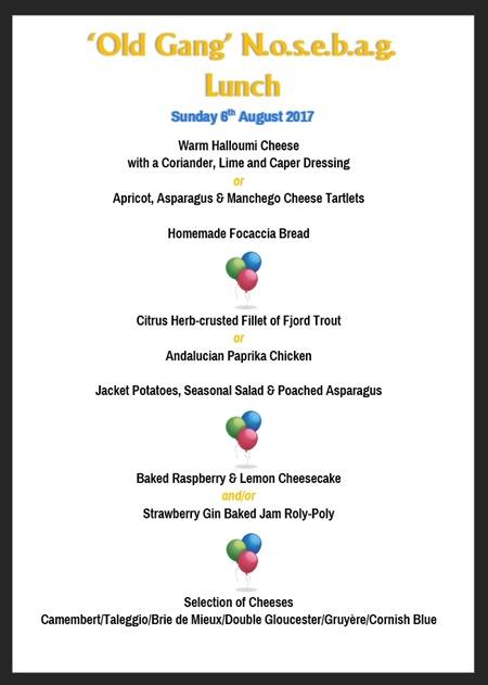 NoseBag August 2017