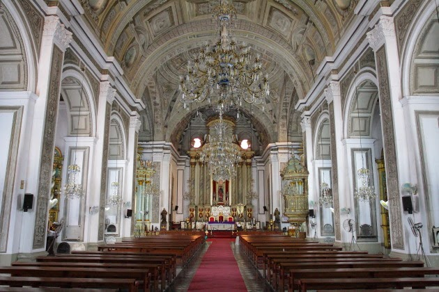 Inside the San Augustin Church, Manila