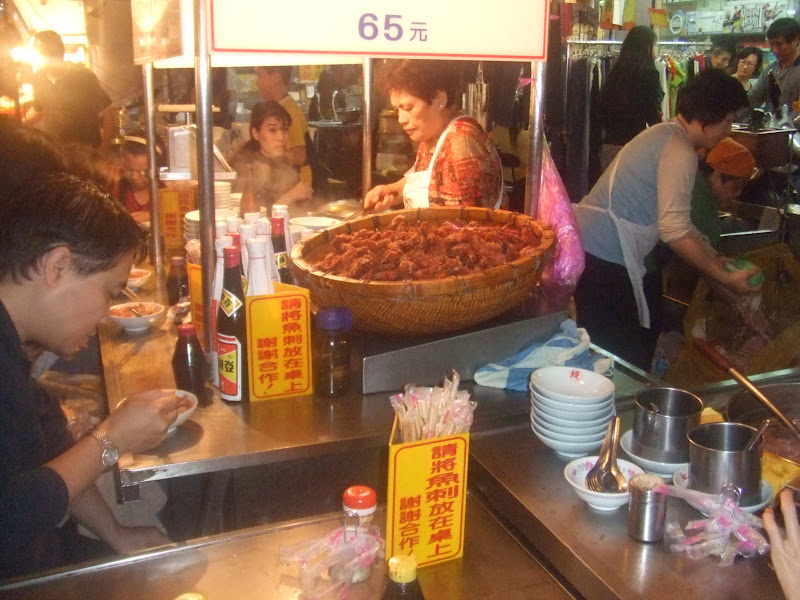 Taiwan Keelung night market