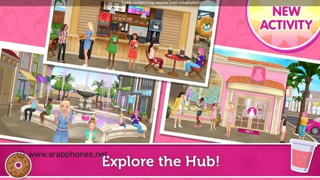 تحميل لعبة Barbie dream house مهكرة للاندرويد