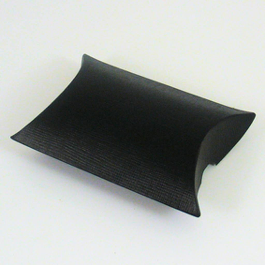 Black wedding favour pillow