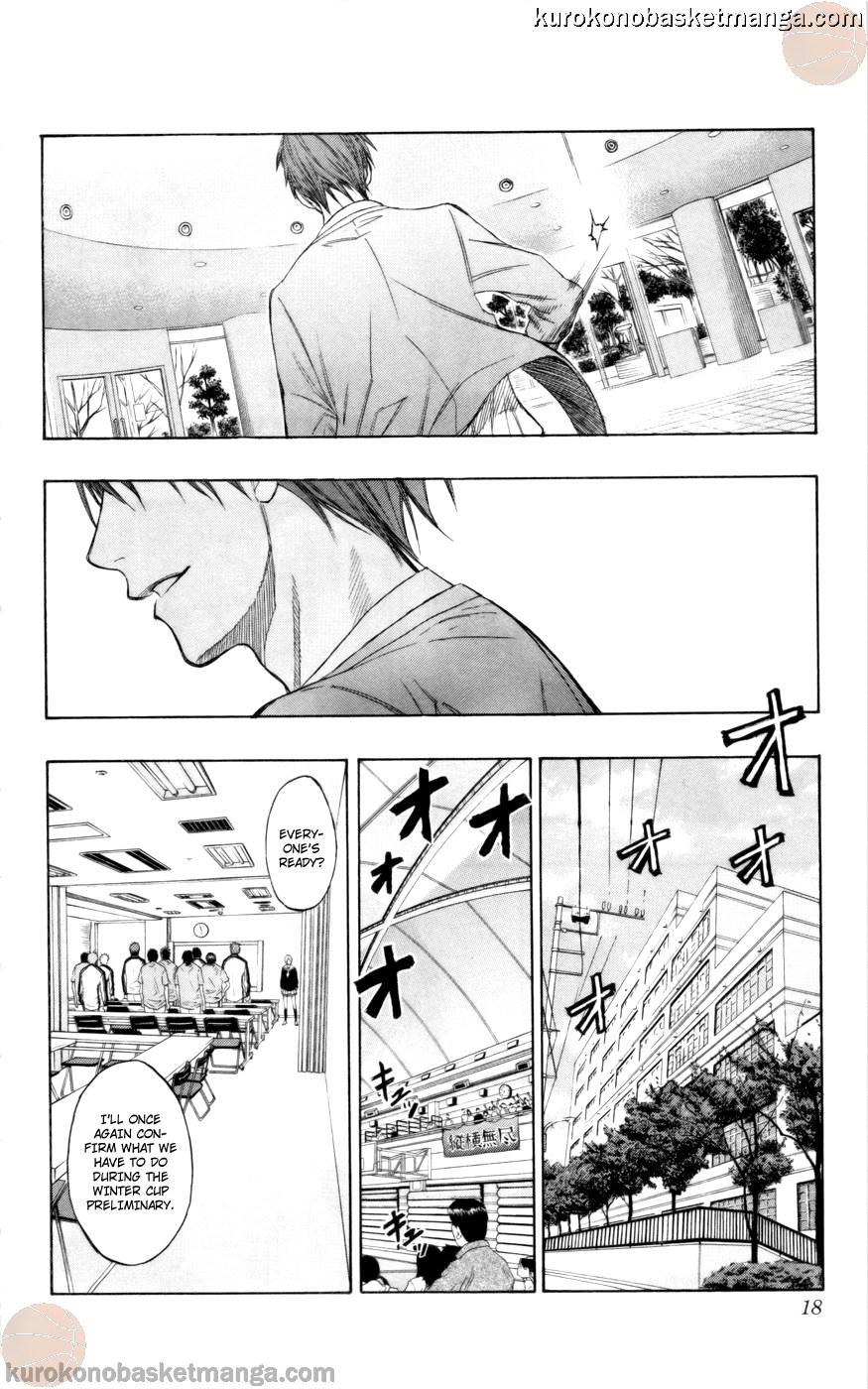 Kuroko no Basket Manga Chapter 81 - Image 16