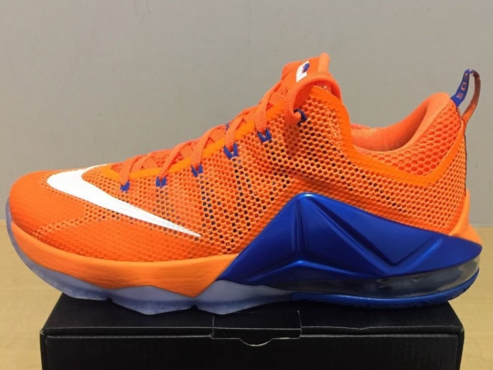 wholesale dealer e6113 5c2aa Closer Look at Nike LeBron 12 Low Bright Citrus ...