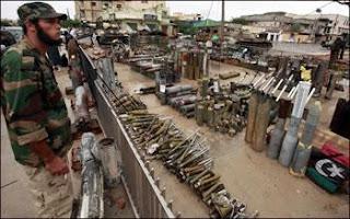 Les stocks d'armes Lybiennes pullulent à nos frontières Legs empoisonné