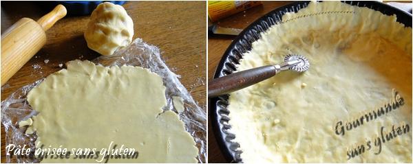 pâte brisée sans gluten
