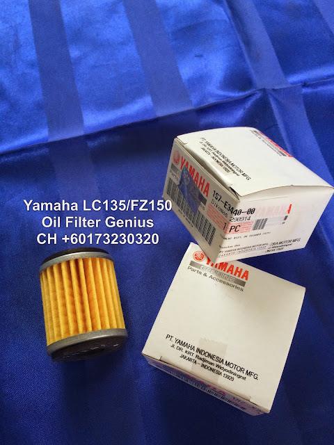 Oil Filter Yamaha Lc135 Original Yamaha Lc135 / Fz150 Oil
