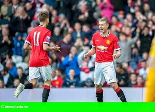 Hình 1: Januzaj, Wilson chói sáng, U21 Man Utd đè bẹp Man City