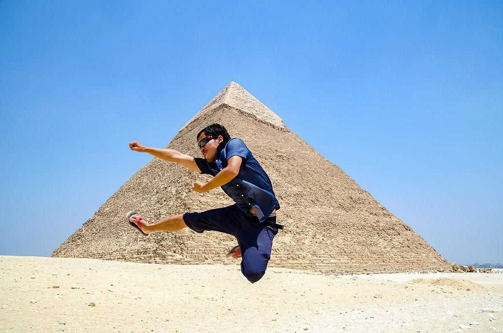 埃及 吉薩金字塔 Giza Pyramid 胡夫金字塔