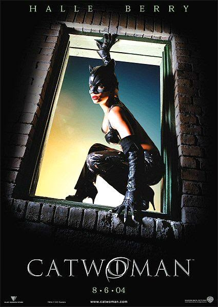 Poster Of Catwoman (2004) Full Movie Hindi Dubbed Free Download Watch Online At alldownloads4u.com