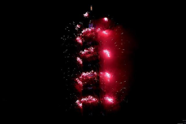 2021台北101跨年煙火照片 2021 Taipei101 Fireworks