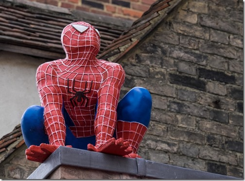 lt - Spiderman in Canterbury