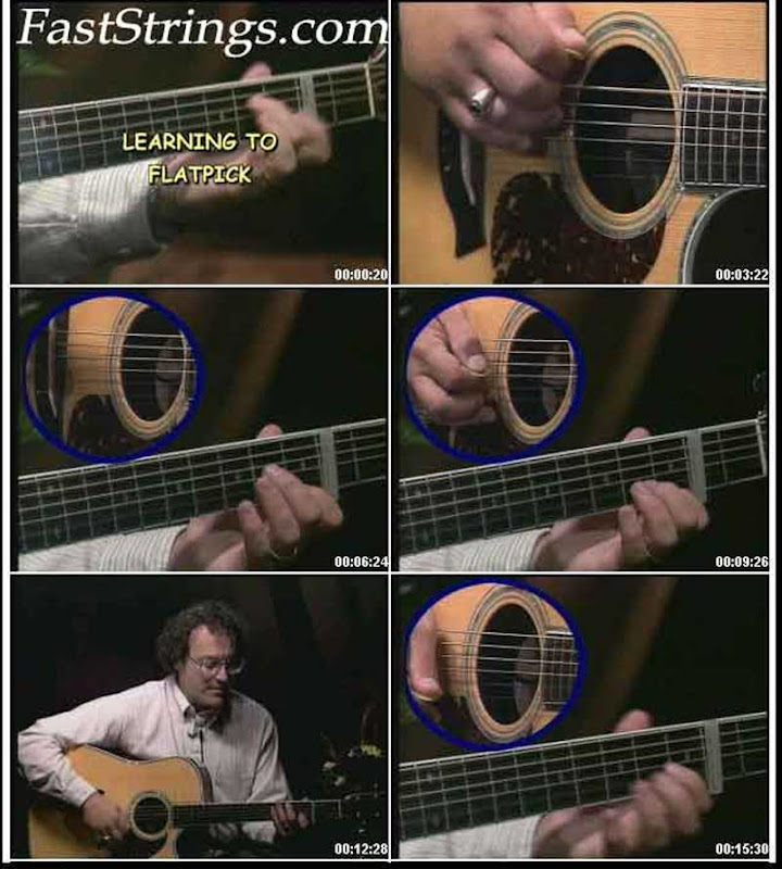 Steve Kaufman - Learning to Flatpick (3 DVD set)