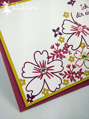 Stampin' Up! - In{k}spire_me #249, Color Challenge, Für Lieblingsmenschen, Love & Affection, Flowers, Blumenmeer, Masking Technique