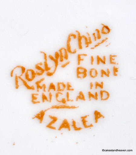 Roslyn China 1937 backstamp