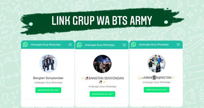 100+ Link Grup WhatsApp BTS Army 2021 Indonesia & International