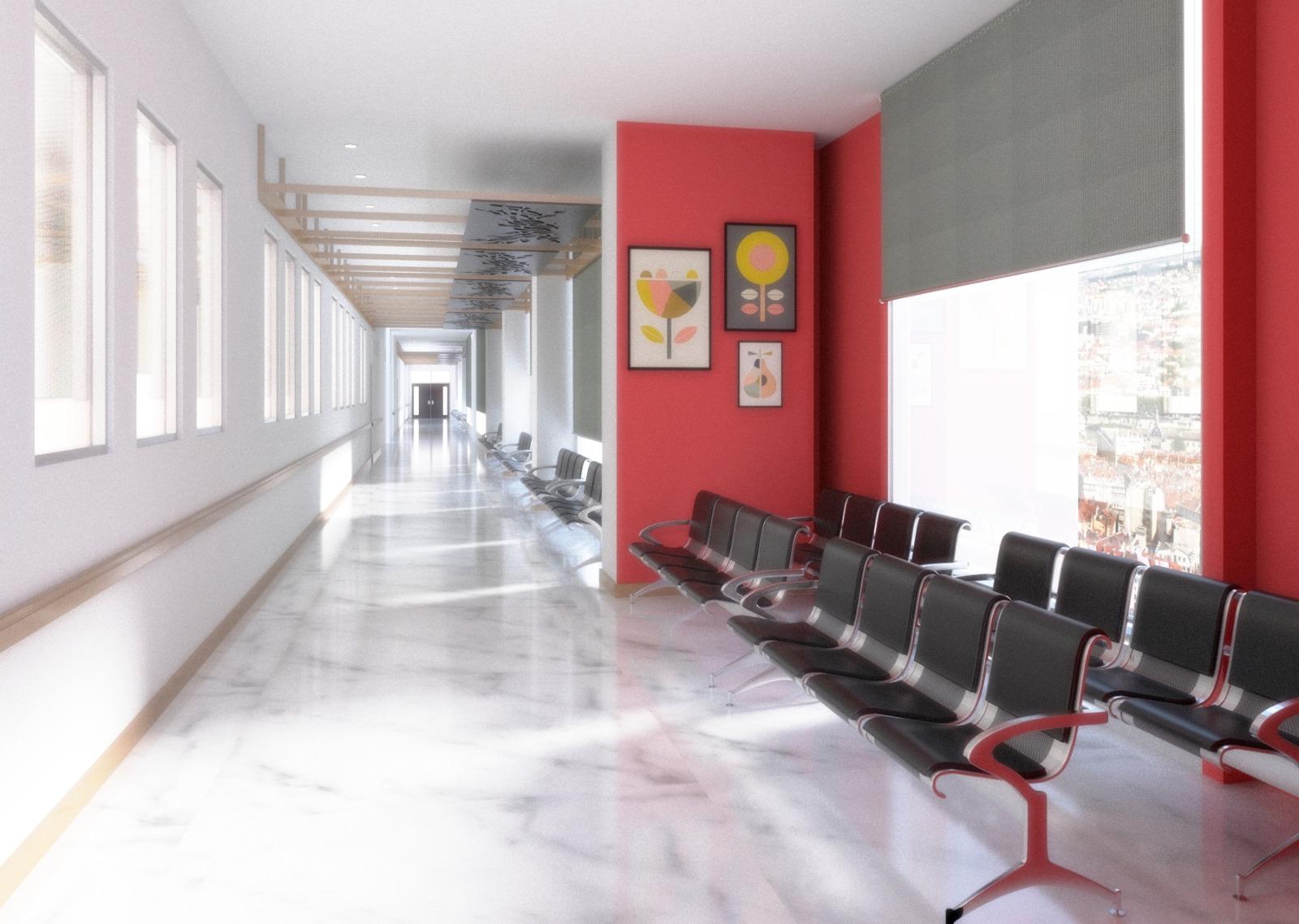 Tfq Architects Desain Interior Ruang Koridor Rumah Sakit Jawa Timur