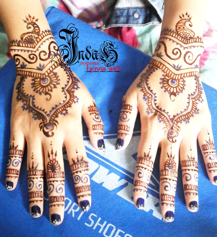 Indah Henna Design Jasa Pasang Henna Mehndi