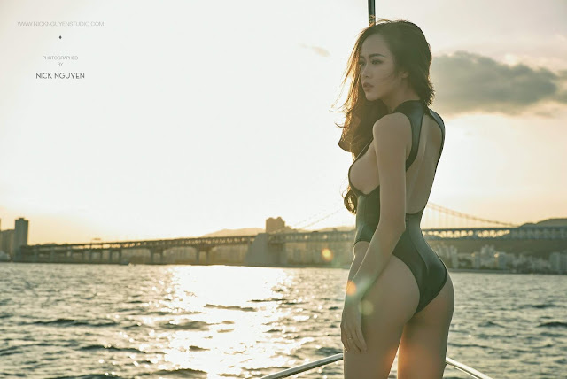 Vũ Ngọc Anh sexy in Busan photo Nick Nguyễn