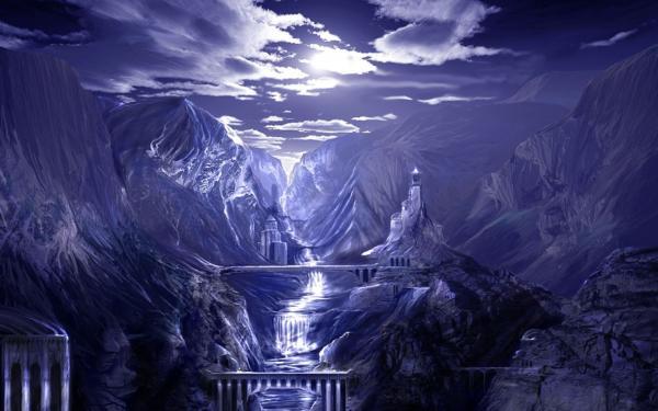 Fantasy Landschaft, Mystery