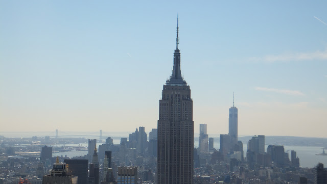 Empire State, Manhattan vista desde The Top of the Rock, Elisa N, Blog de Viajes, Lifestyle, Travel