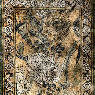 Silk Floral Runner