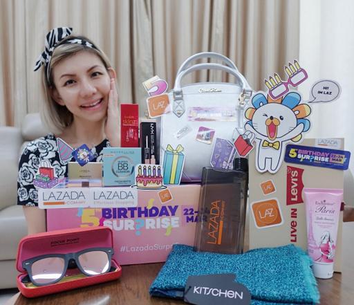 Malaysian Lifestyle Blog: Lazada 5th Birthday Surprise Gifts