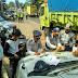 Razia Truk yang Melanggar Jam Operasional di Sukabumi