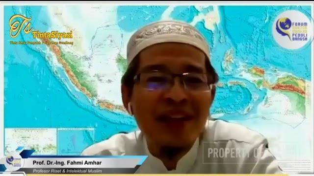 Prof. Fahmi Amhar: Pendidikan Islam Bermutu dan Gratis