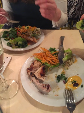 Ethical chicken restaurant in Brighton H.en