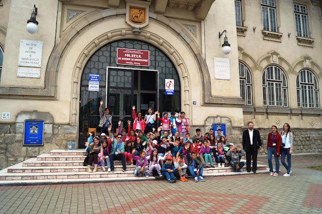 21 August - În vizită la muzeele din Piatra Neamț