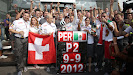 Sergio Perez Sauber Celebration