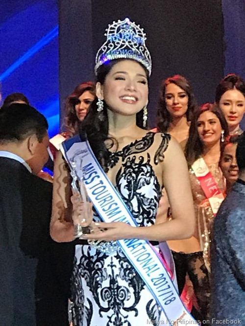 Jannie Alipo-on wins Miss Tourism International 2017
