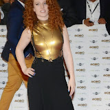 WWW.ENTSIMAGES.COM -  Jess Glynne   arriving at   MOBO Awards 2014 at SSE Arena Wembley October 22nd 2014Annual awards show recognising the best in urban music which is supported by HTC Photo Mobis Photos/OIC 0203 174 1069