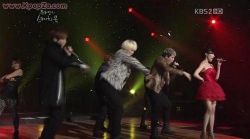 """Super Junior และ Tiffany (SNSD) ปล่อยการแสดง """"Oops!"""" ออกมาแล้ว"""