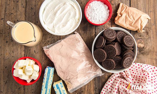 Oreo Dump Cake ingredients