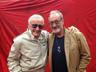 With the master, Stan Lee.