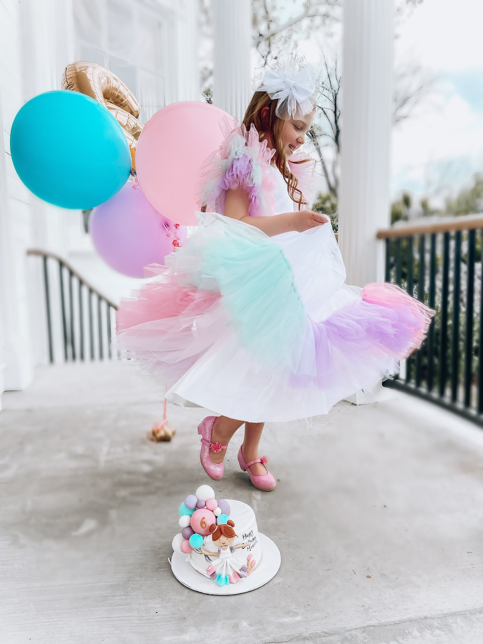 Happy 6th Birthday, Madeline! - Something Delightful Blog