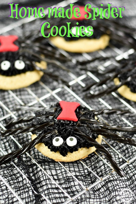 homemade-spider-cookies