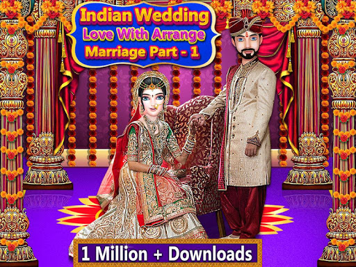 Indian Wedding Love with Arrange Marriage Part - 1 1.5 screenshots 1