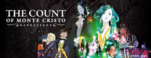 24hphim.net key art the count of monte cristo gankutsuou Bá tước Monte Cristo
