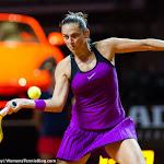 STUTTGART, GERMANY - APRIL 21 : Roberta Vinci in action at the 2016 Porsche Tennis Grand Prix