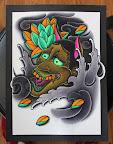 #tattoodesign #tattooflash #art #watercolor #gaofeng