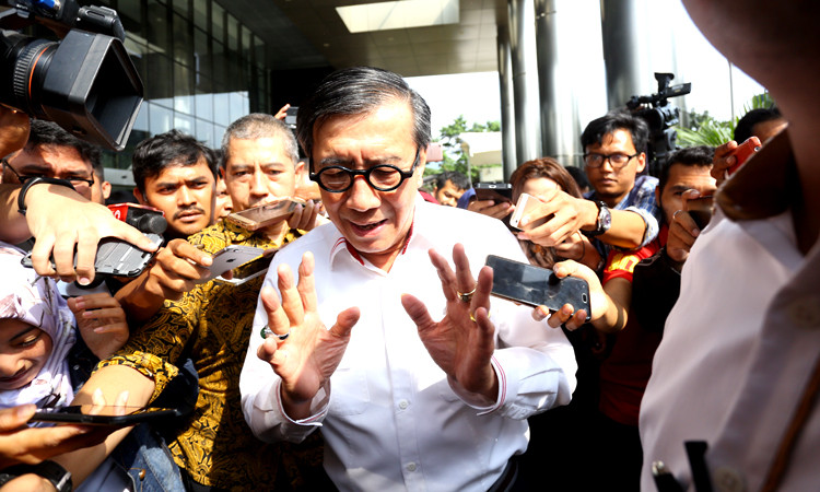 Kasus Suap KPU, KPK Buka Peluang `Garap` Yasonna H. Laoly