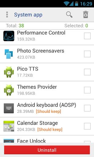 Daftar aplikasi android
