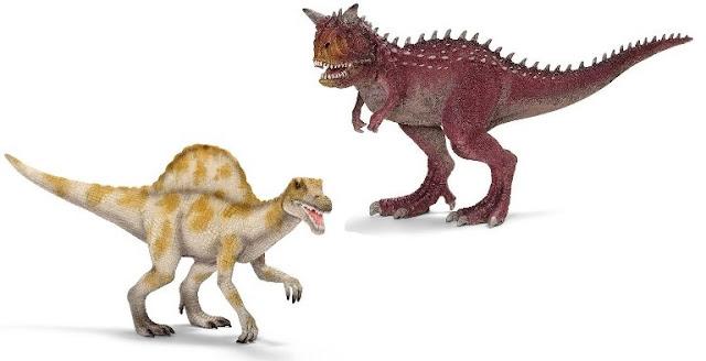 Mô hình Khủng long chân thú Carnotaurus Schleich 14527 sinh động đẹp mắt
